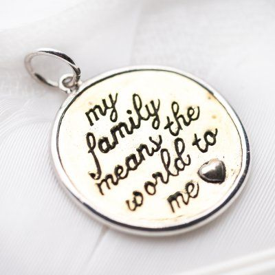 Family charm #1112 > RRP $AUD33.00 | PALAS Jewellery
