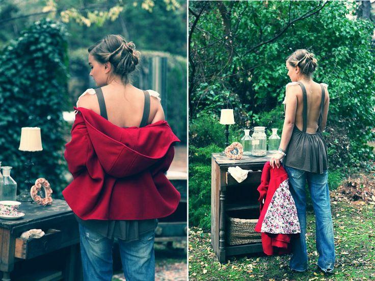 madame shou shou | tsai jacket & yasemi shirt