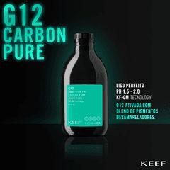 KEEF escova progressiva sem formol- GLOSS G12 CARBON PURE