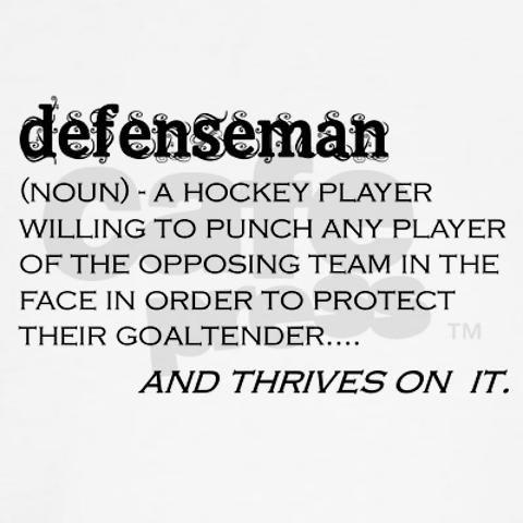 Defenseman definition