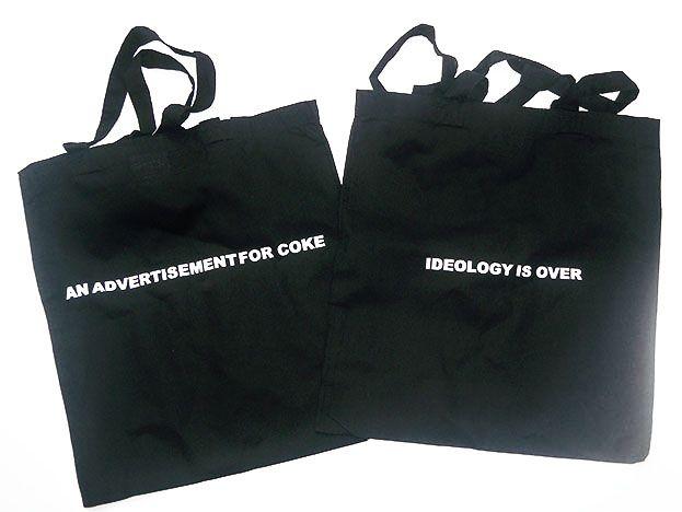 Stefan Brüggemann - Coton tote Bag printed on both sides. Price : 15€