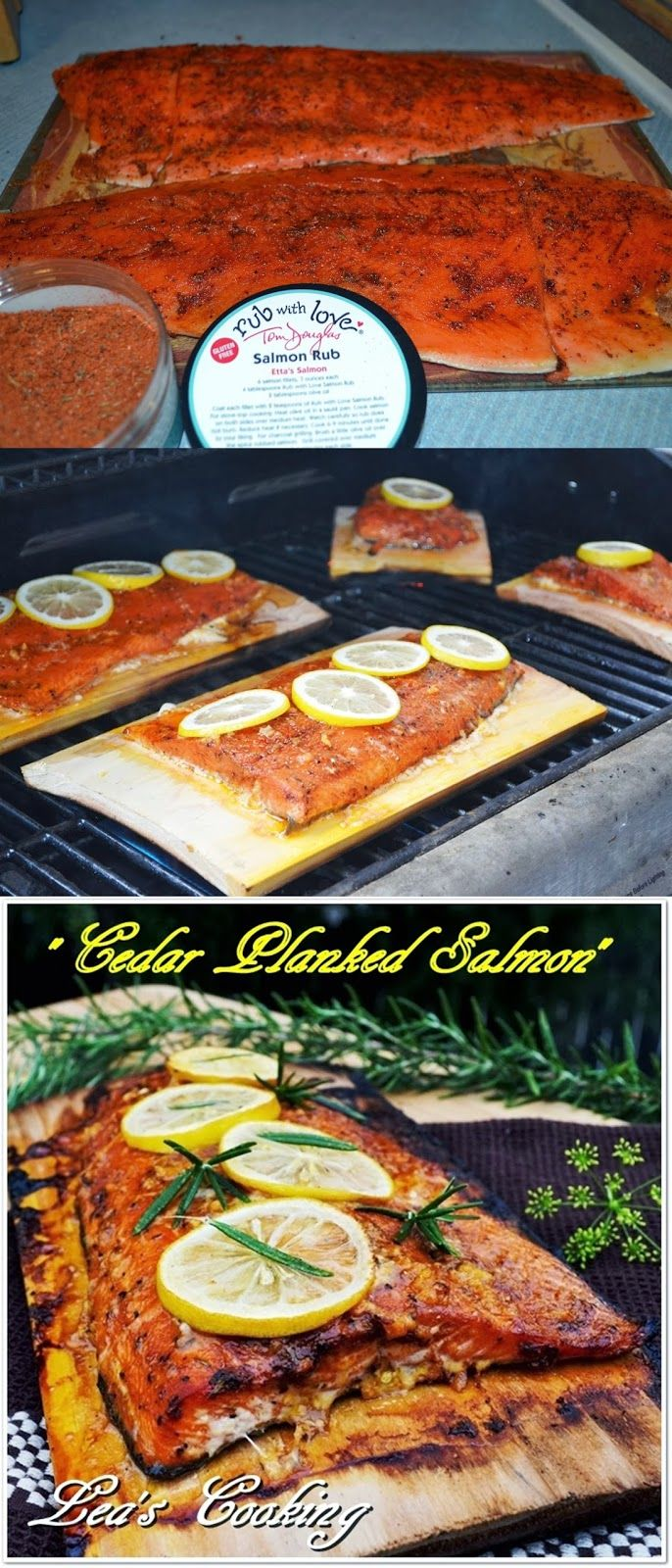 How To Grill Salmon On A Cedar Plank The Best Salmon I Ever Ate