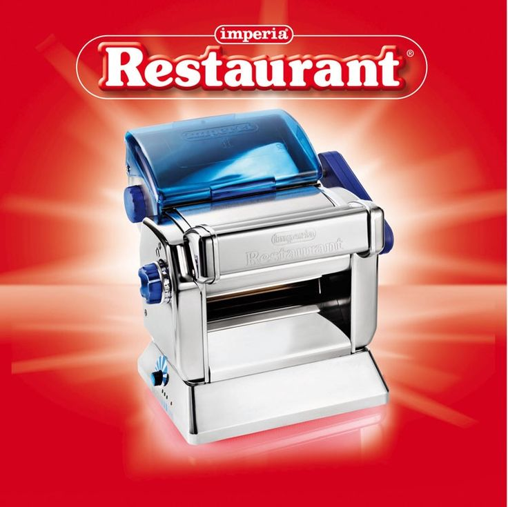 Imperia Restaurant elettronica con impastatrice: il top della gamma.