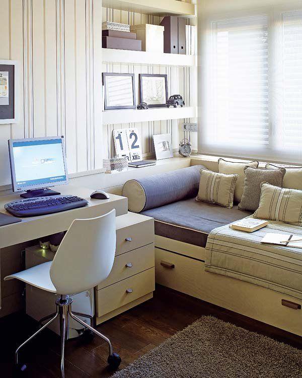 M s de 25 ideas incre bles sobre dormitorios peque os para - Disenar habitacion juvenil ...