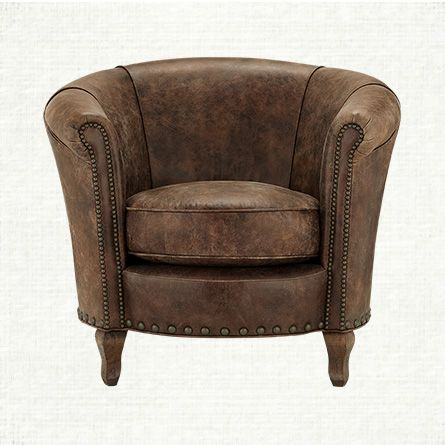Shop Our Benedict Leather Chair At Arhaus Chairs