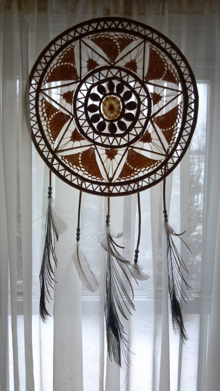 diy repurposed materials dreamcatcher found the