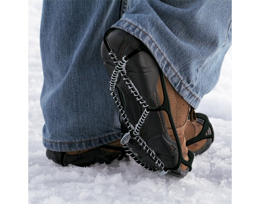 Yaktrax Walker – Walk safely on slippery surfaces covered by snow and ice ( read more and see where you can buy - http://upgrade.ly/?p=409 )