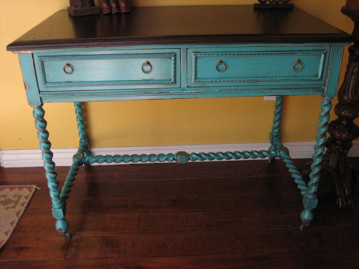Painted Tables best 25+ rustic painted furniture ideas on pinterest | distressing