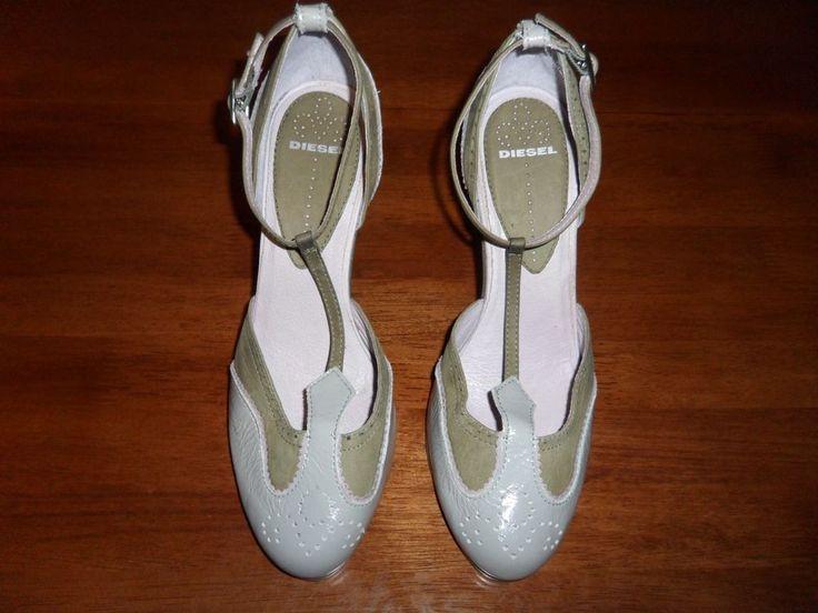 women diesel heels sandals genuine leather size 9 #DIESEL #heels