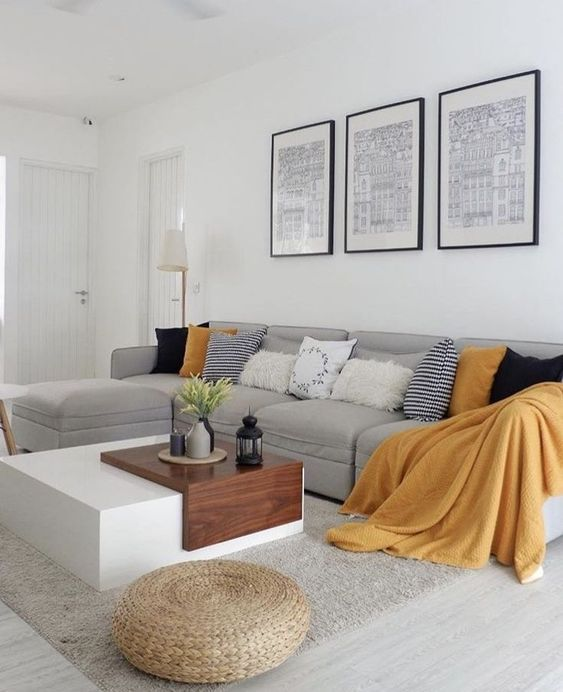 Bright Living Room: 25+ Captivatingly Beautiful Ideas For You