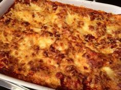 De lekkerste lasagne die ik ooit gegeten heb
