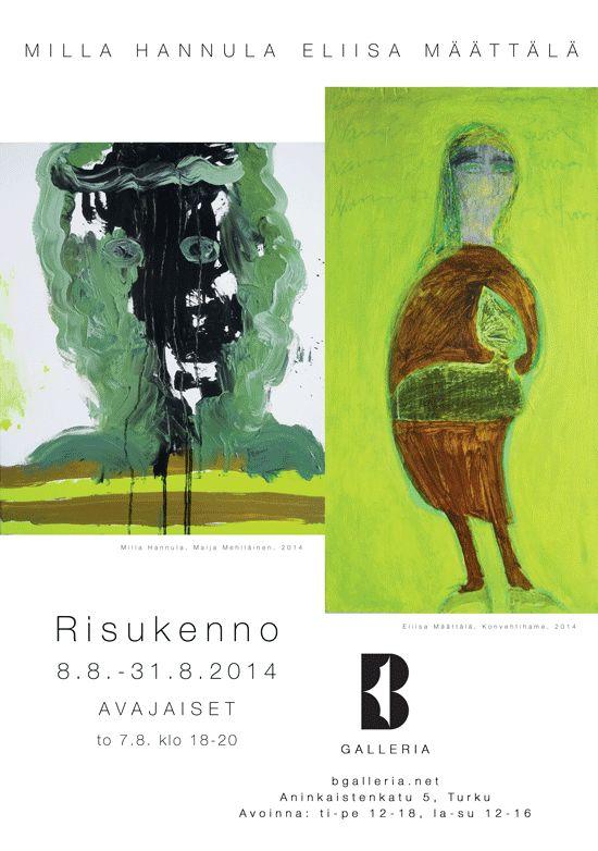 B-galleria in Turku, Länsi-Suomen Lääni. Milla Hannula & Eliisa Määttälä