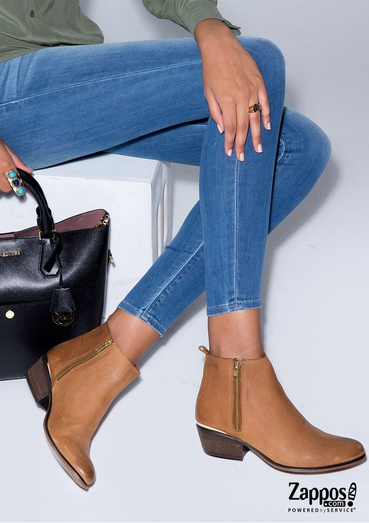 flat ankle boots with jeans - photo #32