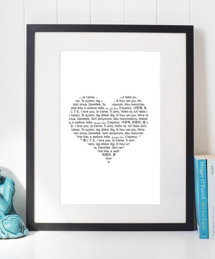 For your #Soulmate!  http://etsy.me/2iMVZRP #Love #Gift #Idea #Etsy #Decor #WallArt #Design #Printable #Valentines #Inspirational #Motivational #Cheap #EtsyFinds #EtsyForAll #Stampe #Prints #Decor #EtsyHunter #Love #art #black #instalove #instalike Wonderful Wall Art Designs to Brighten your Life!
