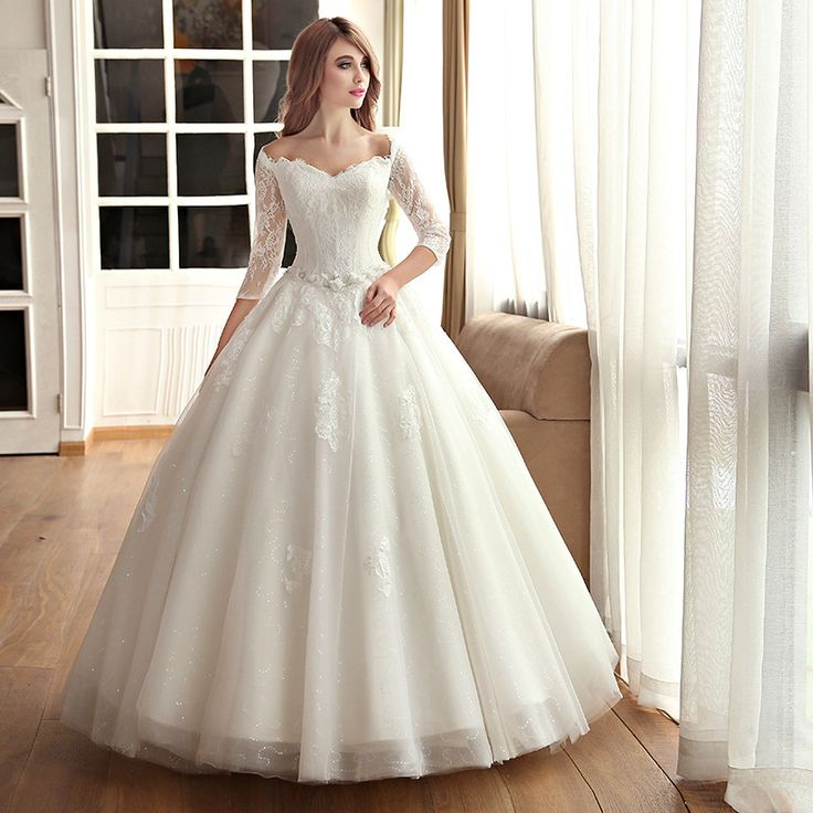 Cheap dress soldier, Buy Quality dress folding directly from China gown fashion Suppliers: Wedding Dresses 2015 vestido de novia Luxury Lace Long Sleeved Muslim Wedding Dress New Bridal Long Tail Plus Size Weddi