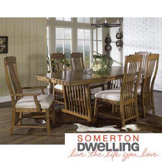 Somerton Dwelling Craftsman 7-piece Dining Set