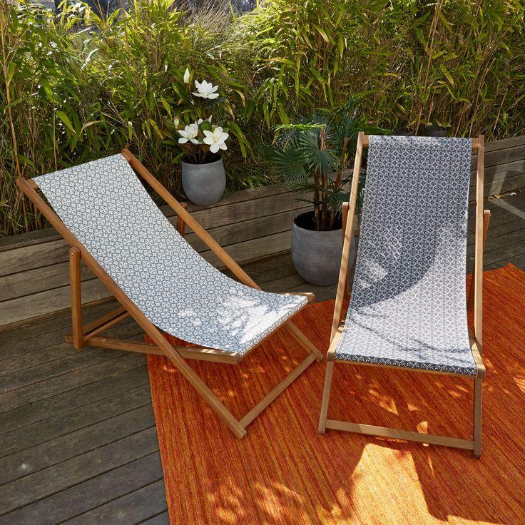 Les 25 meilleures id es de la cat gorie transat chaise for Chaise longue ou transat