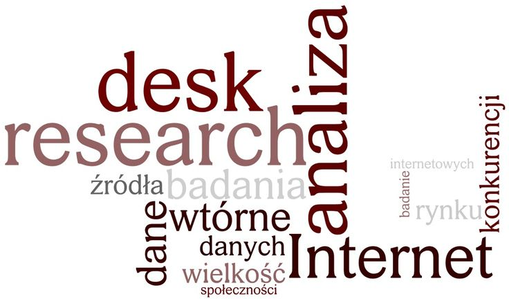 BCE Badania Marketingowe: Desk research