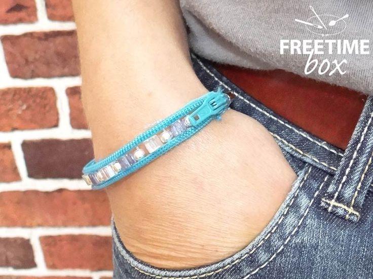 Les 25 meilleures id es de la cat gorie bracelet fermeture clair sur pinterest zipper jewelry - Monter une fermeture eclair ...
