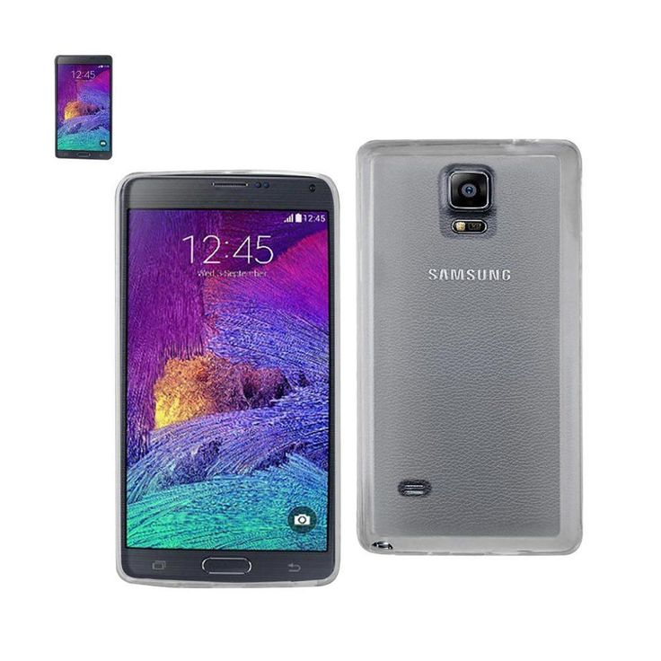 Reiko Dual Color Jelly Case For Samsung Galaxy Note 4 N910V/ N910P N910T/ N910R4 Clear