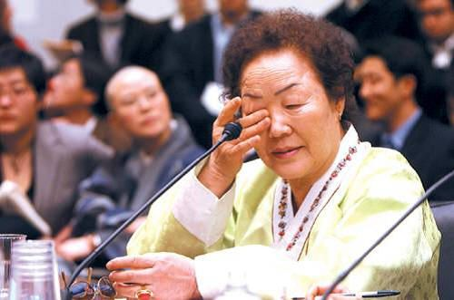 """Japan still to apologize wwii sex-slaves such as Yong Soo Lee, insteas of calling euphemism of """"comfort women"""" a closed history ..."""