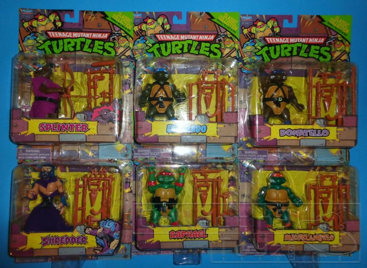 Teenage Mutant Ninja Turtles Classic Collection toys -  these are some of the toys i remember getting at Christmas.. (collectingtoyz.blogspot.co.uk, 2013)
