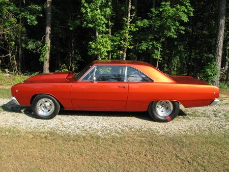 1968 Dodge Dart prostreet I. Want. This. Car. New model or old, it doesn't matter to me!