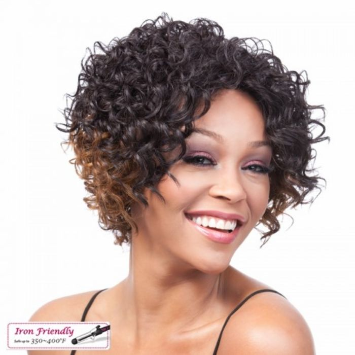 Short Curly Weave Styles For Black Hair : Curly wigs for black women on short natural hairstyles