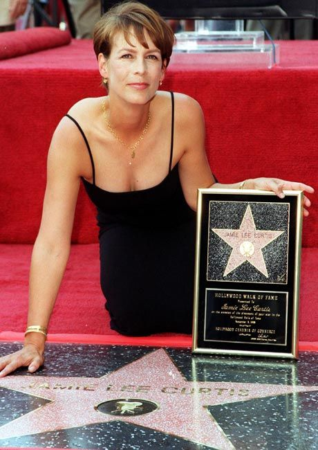Jamie Lee Curtis-she'll be an icon of r time! Great actress that represents beauty& bad ass rolled together from films like Halloween, Blue Steel & True Lies