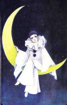 Pierrot - used to have pics like this up in my bedroom as a kid