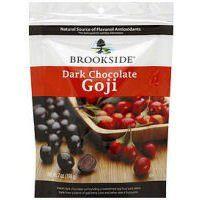 BROOKSIDE Dark Chocolate Covered Goji with Raspberry, 7-Ounce - http://bestchocolateshop.com/brookside-dark-chocolate-covered-goji-with-raspberry-7-ounce/