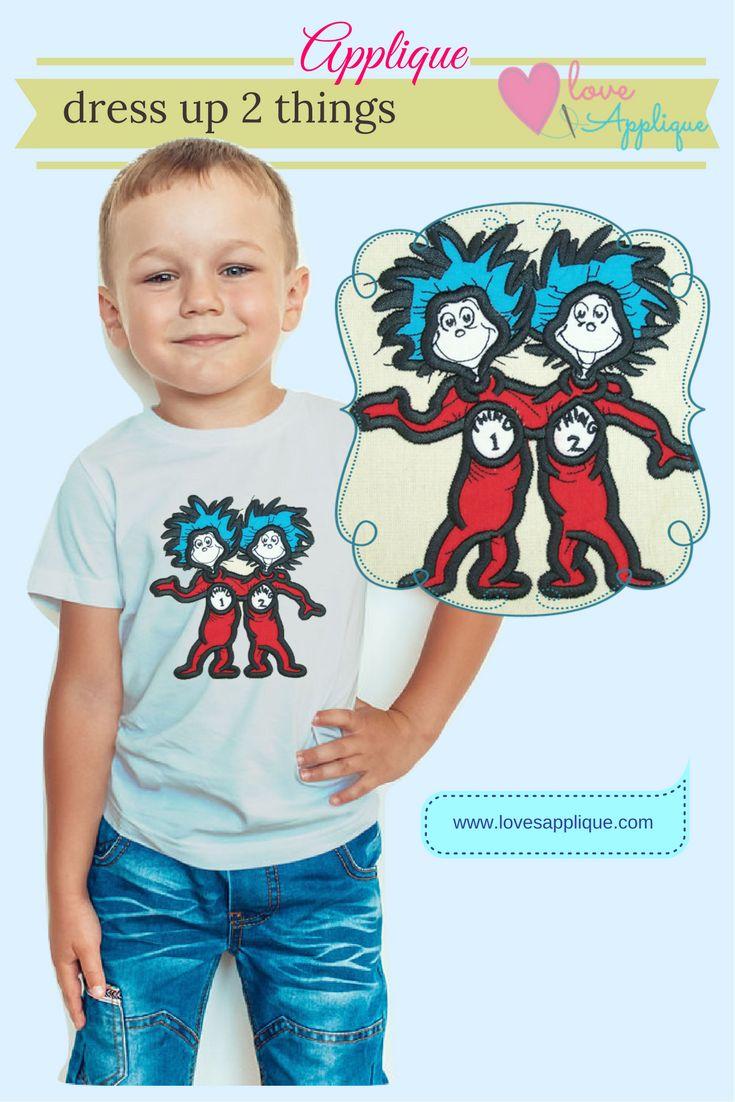 Dr Seuss Applique designs. Dr Seuss Embroidery Designs. Cat in the Hat. Cat in the Hat Party Ideas. Cat in the Hat embroidery Designs. Disney Applique. www.lovesapplique.com