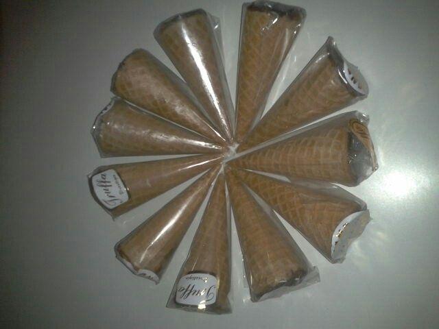 Cones trufados