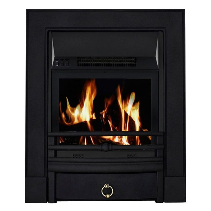 Focal Point Soho Black LCD Remote Control Electric Fire | Departments | DIY at B&Q