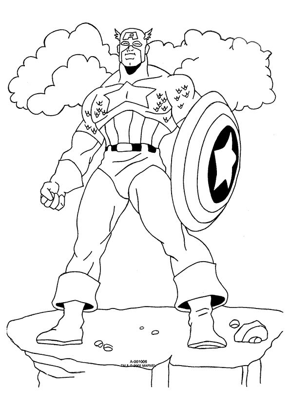 Categories Coloring Pages Free Printable Marvel