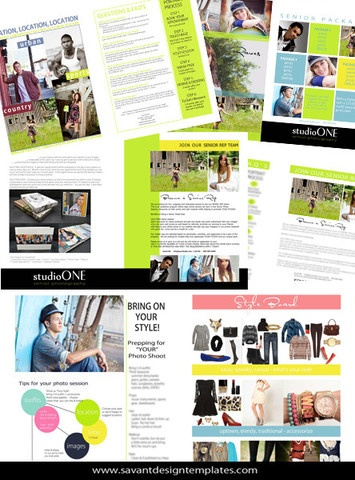 Senior Studio Marketing Magazine by Savant Design Templates | Savant Design Templates