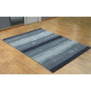 alfombra moderna franklin gris ambar muebles deco alfombras http