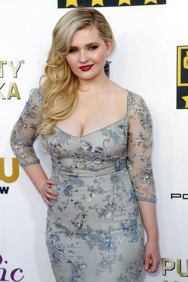 Abigail Breslin. Suddenly she's this confidant woman. Have I been asleep for five years?