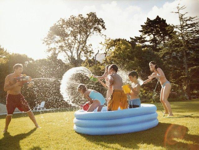 Giochi d'acqua per bambini fai da te