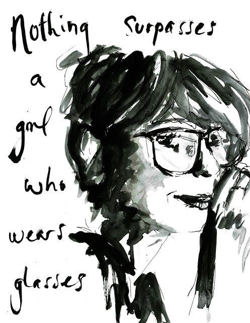 Glasses illustration