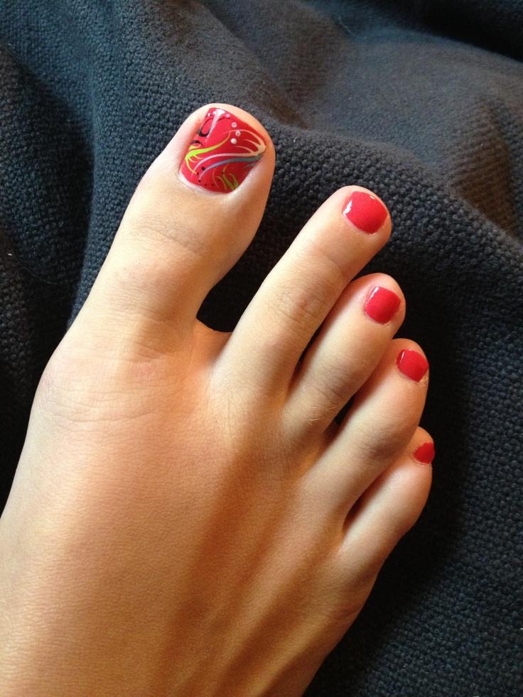 Foot fetish nail spa