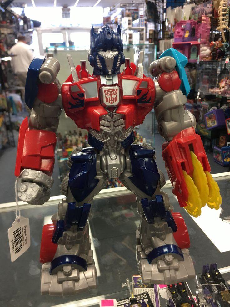 "Tomy Transformers 11"" Talking Electronic Optimus Prime"