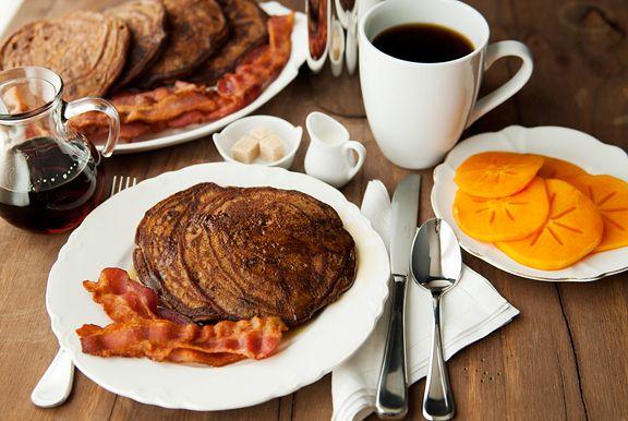 chocolate gingerbread pancakes | Autumn / Winter | Pinterest