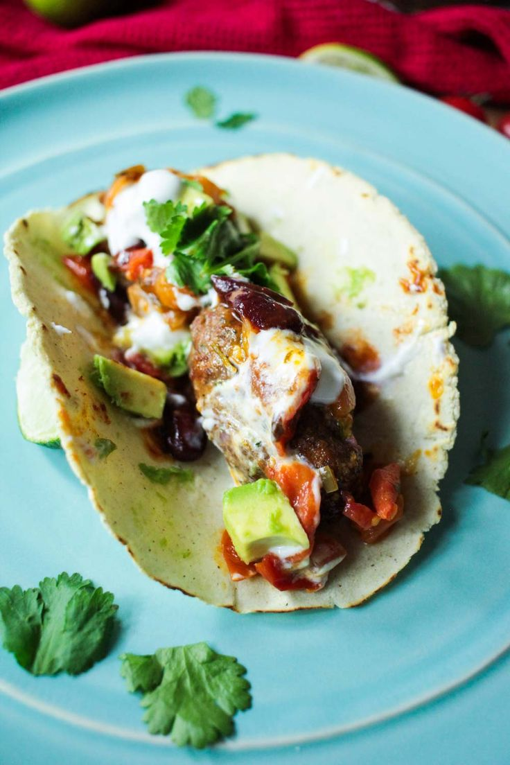 Fancy something different on your taco? Try these Mexican flavoured lamb koftas…