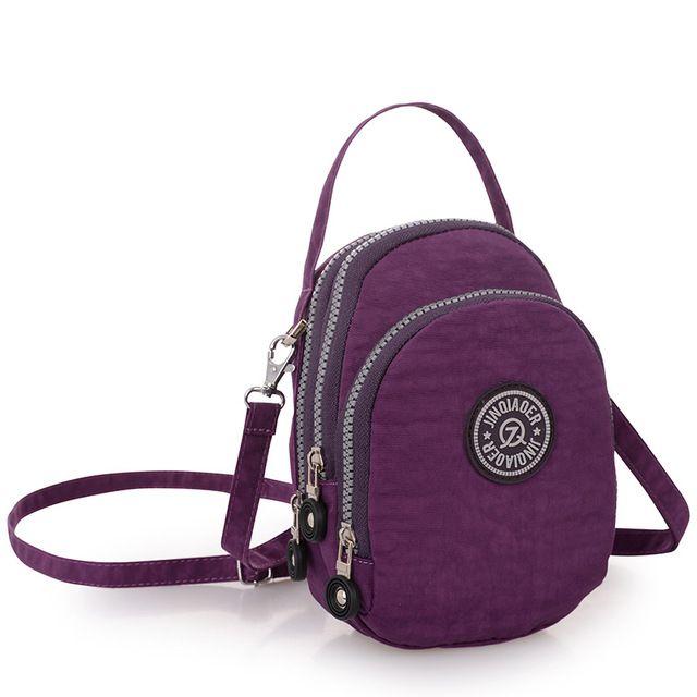 Best Offer $7.09, Buy Purse Female Casual Nylon Waterproof Messenger Bags Shoulder Bags Female Satchel Bolsas Beach Small Travel Women Crossbody Bags