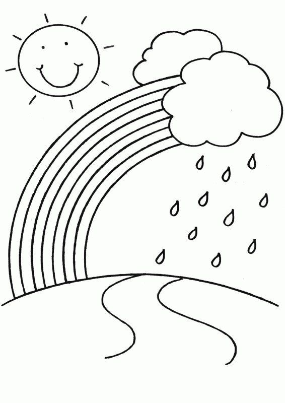 Rainbow Coloring Pages Free Advice Rainbow Coloring Pages For Toddlers Free Rainbows To Kindergarten Coloring Pages Free Coloring Pages Spring Coloring Pages