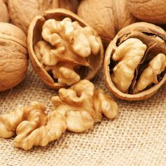 """""""Walnuts are one of the only nuts that contain a high amount of omega-3 fatty acids,"""" says Drayer. """"This has been shown to protect against high blood pressure and heart disease, and increase bone strength."""" Their anti-inflammatory perks also relieve skin diseases such as eczema and even asthma and rheumatoid arthritis.   - Cosmopolitan.com"""