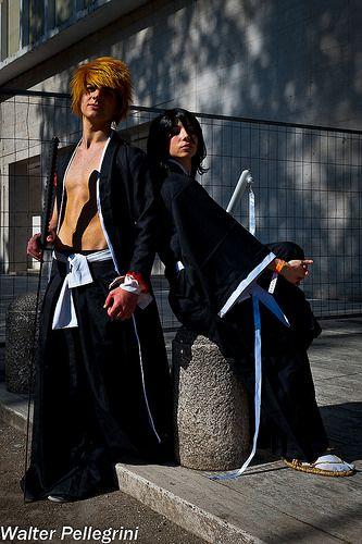 The Warrior Shinigami: Ichigo and Rukia  Cosplayer: Samuel Donnarumma e Sara Petrillo  Photographer: Walter Pellegrini