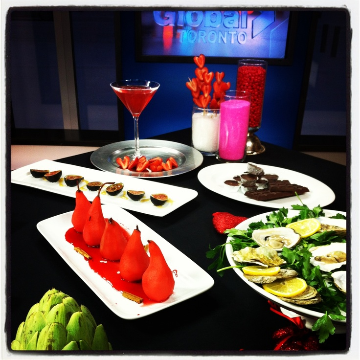 Food to set the Mood - Global Morning Show
