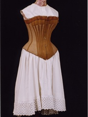 Antique Corset - Greeting Card  www.pinterest.com/wholoves/corsets  #corsets